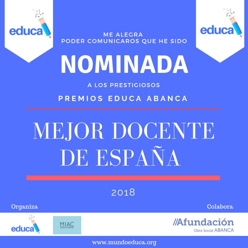 Nominación mejor docente 2018